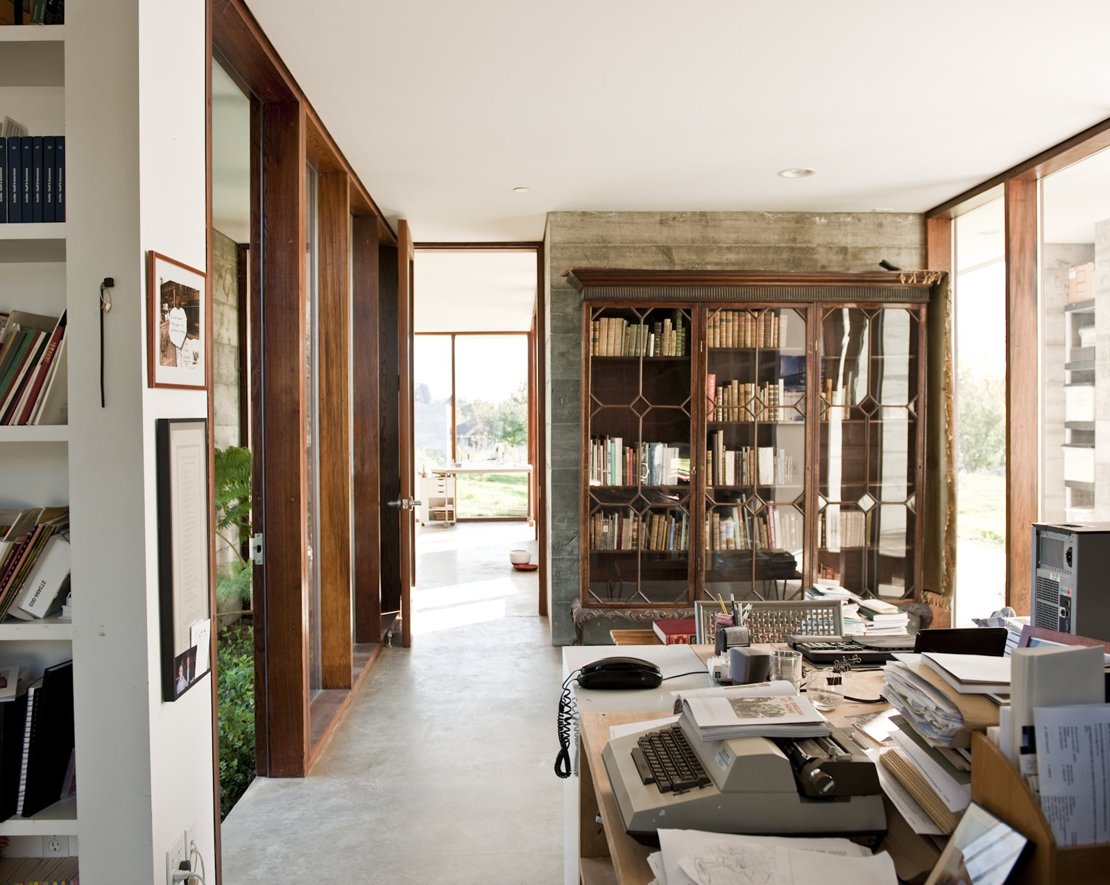 Throughout the house all storage areas are open, leaving crockery, dishware, food, books, and clothes in plain view.  Photo 15 of 23 in Fertile Grounds