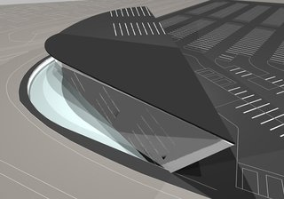 Events this Weekend: 3.18-21 - Photo 3 of 3 - A 2007 rendering of a sustainable office building designed by CJ Lim of 8 Architects, who will be featured in the London 8 exhibition opening this weekend in Los Angeles.