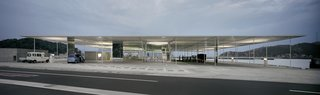2010 Pritzker: Sejima and Nishizawa - Photo 8 of 10 - Another humble building in the face of a lovely landscape, the Naoshima Ferry Terminal in Naoshima, Kagawa, Japan was completed in 2006.