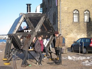 Soon to be exhibited this summer at the European Capital of Culture in Essen, Germany, the Walking House will also herald the start of Nomadic Futures, a conference dedicated to exploring the potential of nomadic living, dynamic geography, and collective ownership.  (A Call for Proposals is actually out right now, and chosen projects will be exhibited alongside the Walking House.)