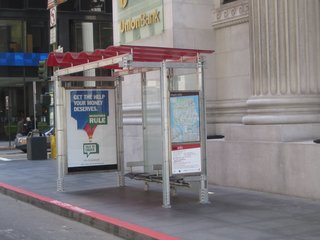 San Francisco's New Bus Shelters - Photo 1 of 2 -
