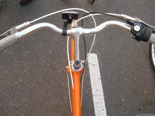 Just after turning onto 34th street, Heather and I traded bikes (I had a sweet rental Panasonic bike from The Hub Station). The rest of the ride was smooth sailing on this new Public D.