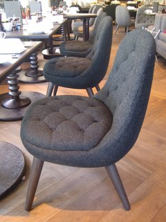 I rather liked these Harris tweed-covered chairs by Graven Images at the Blythswood Hotel.