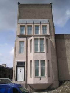 The only picture I could lawfully get of the Mackintosh House at the Hunterian Museum on the campus of the University of Glasgow.