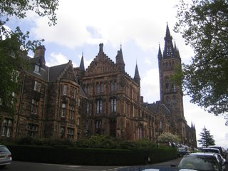 Rather hard not to be impressed with the University of Glasgow. Take that, Princeton!