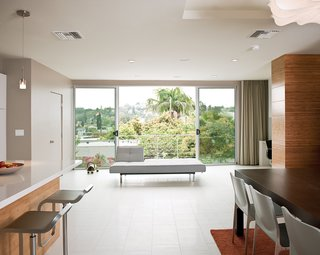 The Owenses' home features offerings from Design Within Reach.