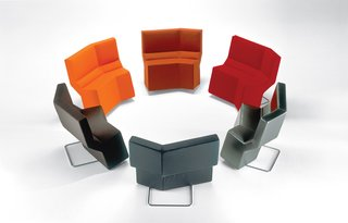 Chaos family of seating for ClassiCon, 2001.