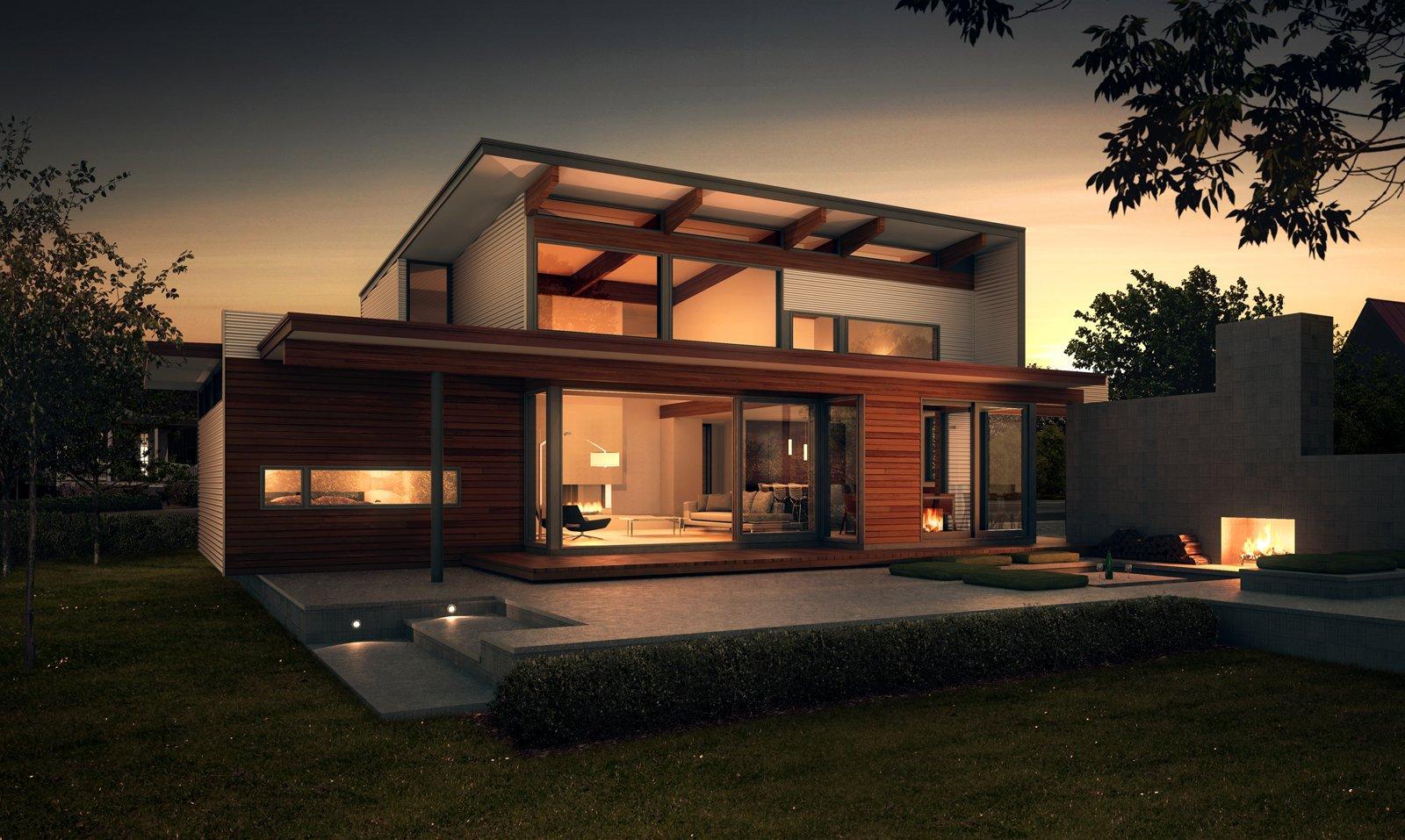 Preview: Joel Turkel, Prefab Design - Dwell on linda l cedar homes, dwell prefab homes, turkel prefab homes,