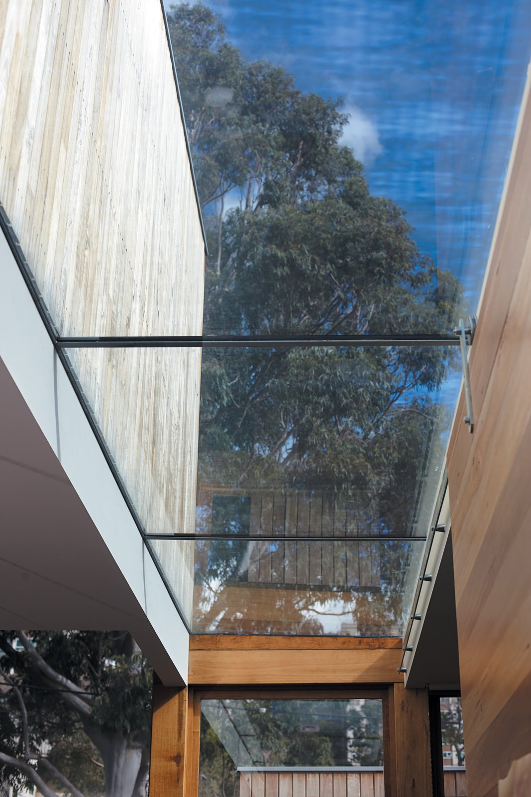The skylight in the kitchen keeps things quite bright. Tagged: Kitchen.  Photo 6 of 9 in 1860s Stable Modernized in Melbourne