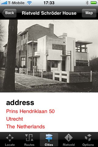 Photo 3 of 3 in New Rietveld App for iPhones