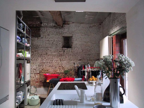 Flemish Farmhouse Kitchen