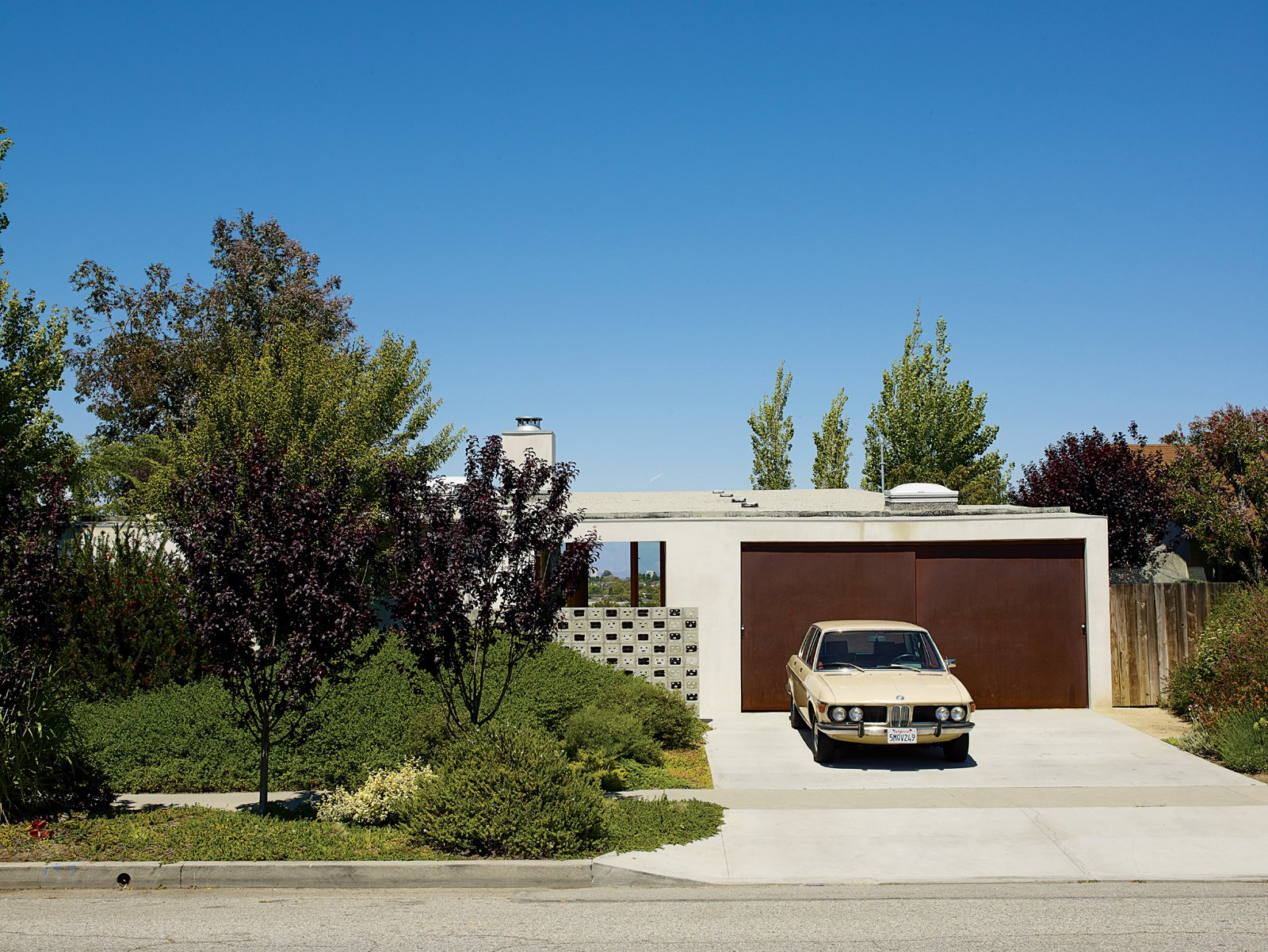 Garage and Attached Garage Room Type  Photo 1 of 9 in How a Bungalow Went from Bland to Brilliant