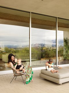 6 Main Tips to Consider When Designing Your Home For a Growing Family - Photo 1 of 8 - Look behind the mid-century facade, and a back patio offers an unexpected 180-degree view of the Los Angeles basin.