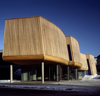 The Lillehammer Art Museum in Lillehammer, Norway. Photo by Jiri Havran, courtesy Snøhetta and SFMoMA.