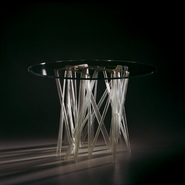 The S1 Solid table by Patrick Jouin. Photo by Patrick Jouin.