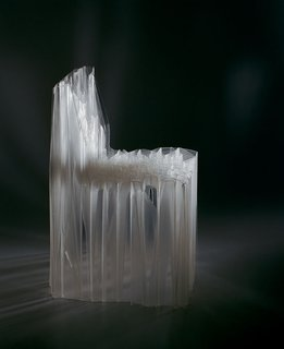 The S1 Solid chair by Patrick Jouin. Photo by Patrick Jouin.