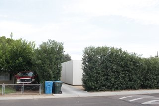 The Meadowbrook house is an anomaly in downtown Phoenix, nestled in a downtrodden neighborhood amid lush oleander bushes.