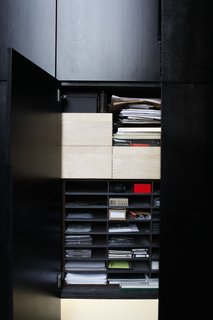 That said, even their closet clutter is minimal and well-organized.