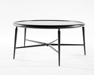 The slim profile of Takagi's five-legged American Gothic table debuted at Bernhardt Design's ICFF Studio in 2009.