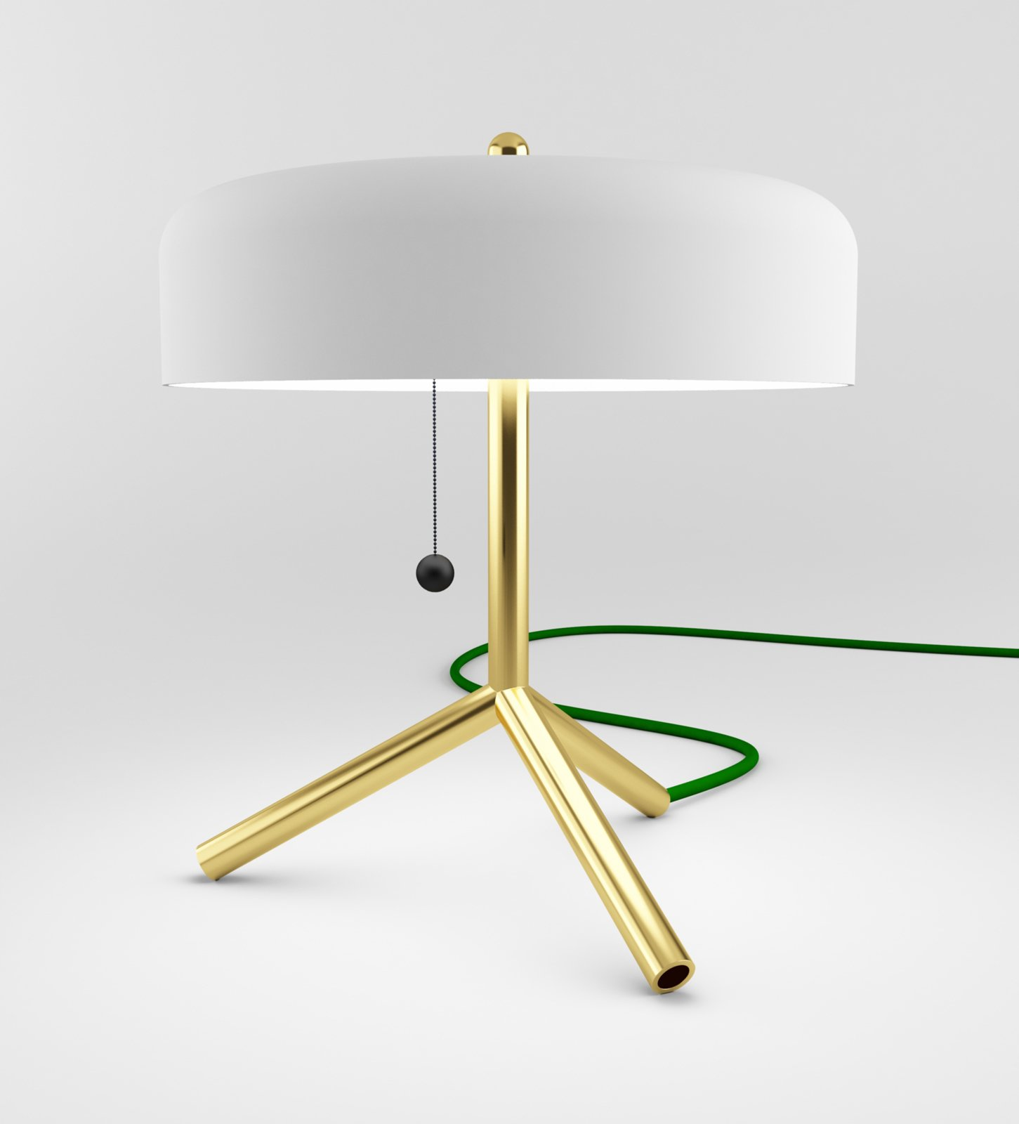 This tripod F/K/A table lamp was one of SoHo staple Matter's inagural MatterMade Collection #1.  Photo 4 of 6 in Industrial Design: Atelier Takagi