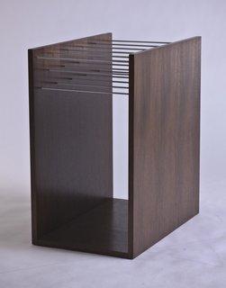 Folio magazine rack.