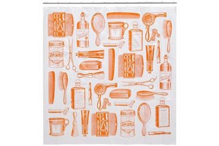 CB2's Barbershop Shower Curtain - Photo 1 of 1 -