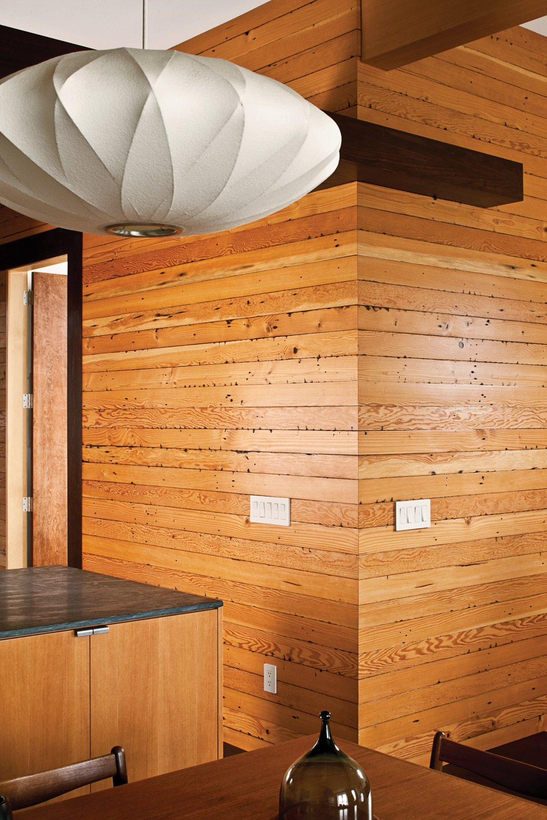 Wood-Paneled Interior in a San Francisco Victorian
