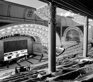 The Architecture of Adler & Sullivan - Photo 10 of 19 - Auditorium Building, Chicago, Illinois, built 1886-1890. Photo courtesy of The Richard Nickel Committee and Archive.