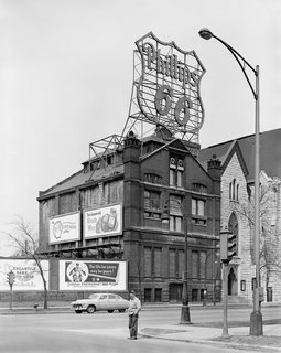 The Architecture of Adler & Sullivan - Photo 11 of 19 - The Hammond Library. Photo courtesy of The Richard Nickel Committee and Archive.