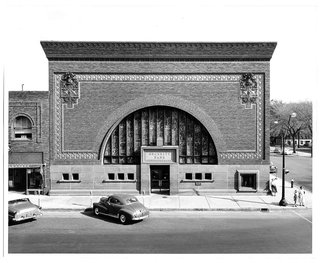 The Architecture of Adler & Sullivan - Photo 14 of 19 - The National Farmers' Bank, Owatonna, Minnesota, built 1907-1908. Photo courtesy of The Richard Nickel Committee and Archive.