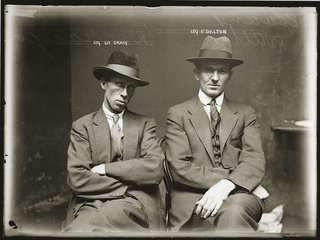 A period photograph from the Sydney Police Department.