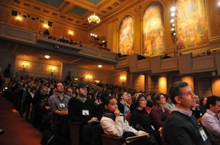 Compostmodern in Review - Photo 2 of 5 - A packed house gathered at Herbst Theater on January 22 to hear speakers deliver talks on design and sustainability at the 2011 Compostmodern conference.