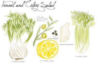 Haley Harmon creates paintings of recipe ingredients on her blog Don't Eat the Paintings.