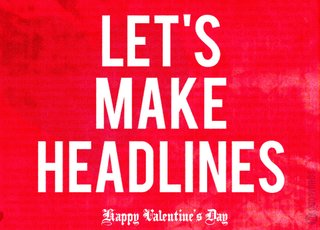 A Journo Valentine's Day - Photo 1 of 3 -