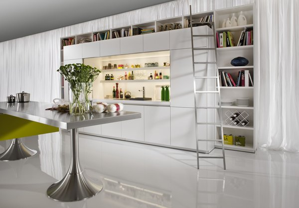Philippe Starck's Library Kitchen