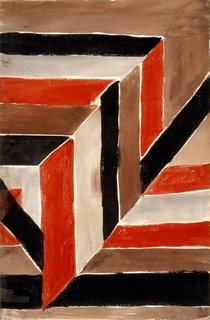 Abstract Diagonal Composition no. 1733, designed by Sonia Delaunay, France, 1925. Gouache on paper. Private collection. © L & M SERVICES B.V. The Hague 20100623. Photo: © private collection.<br><br>Don't miss a word of Dwell! Download our  FREE app from iTunes, friend us on Facebook, or follow us on Twitter!