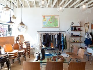 "This Silver Lake Shop Redefines the General Store - Photo 4 of 11 - The creative couple—Kevin also owns and runs Generic Man and Bo has a background in fashion marketing—partnered with Ellen LeComte of Amsterdam Modern for the move to the new location. ""It's not the normal mid-century stuff,"" Kevin says. ""It's things most people here haven't seen before."""