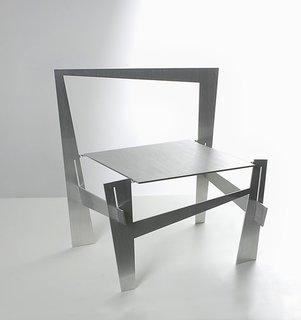 """Kadushin's Laser Cut Chairs - Photo 3 of 5 - Ronen Kadushin's """"Vague"""" chair."""