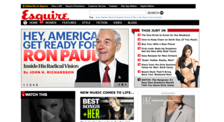 Amid all of the web redesigns, Esquire was able to tidy up without fundamentally altering their content or navigation.
