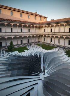 Zaha Hadid's Milan Installation
