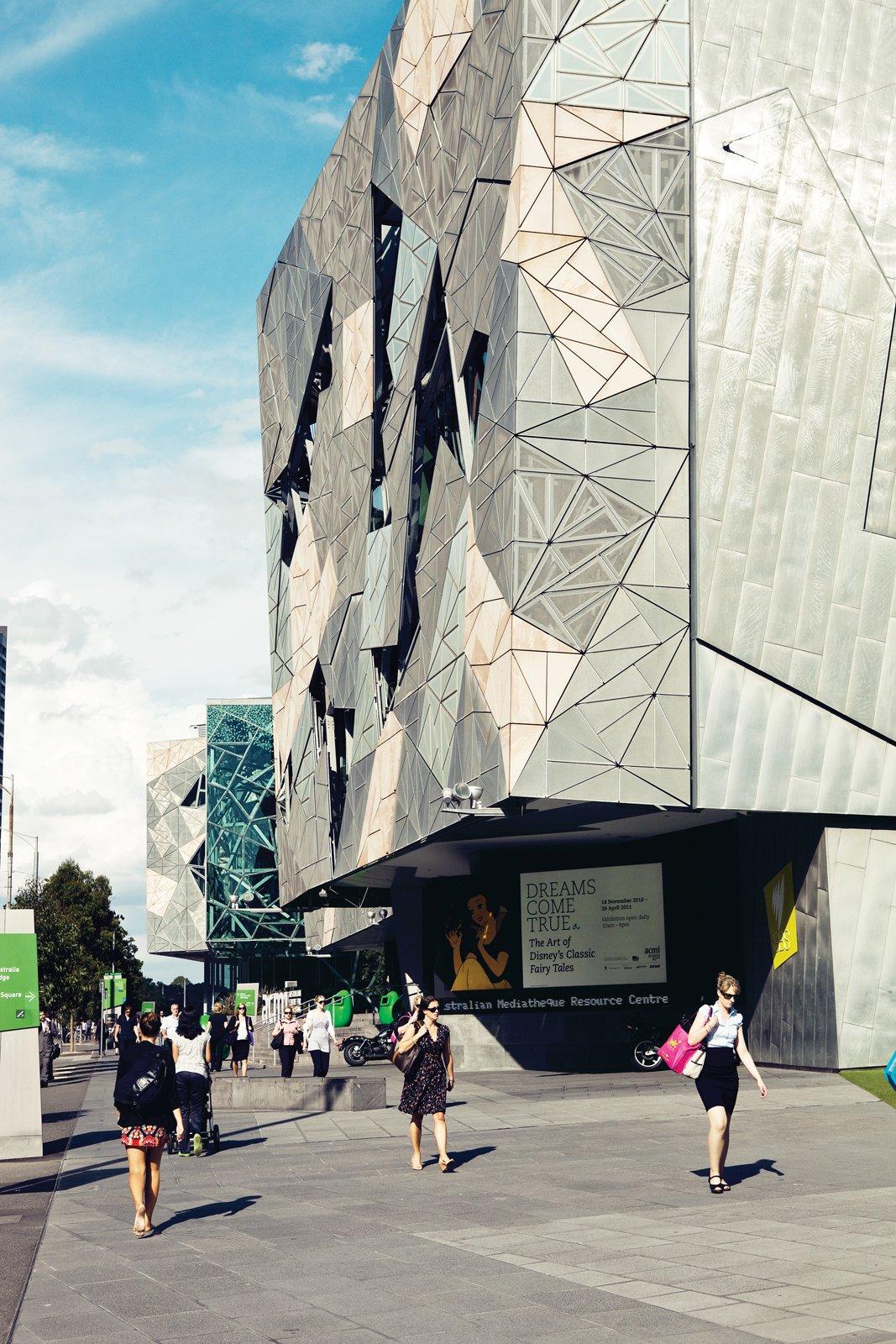 Federation Square  Photo 8 of 24 in Exploring Melbourne, Australia