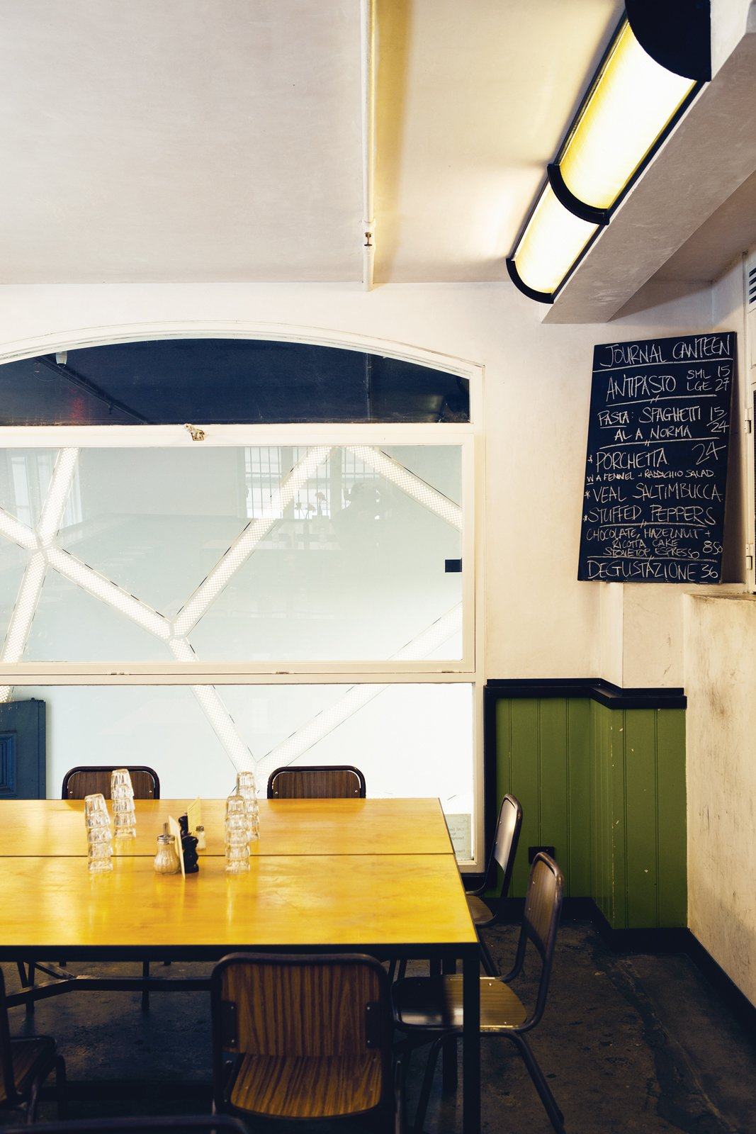 Journal Canteen, upstairs from Journal Cafe  Photo 7 of 24 in Exploring Melbourne, Australia