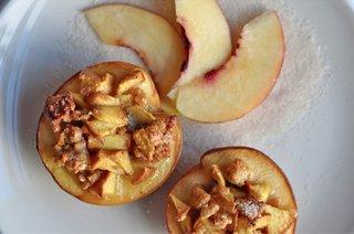 One of Valentina Bertazzoni's favorite summer treats: Pesche Ripiene.