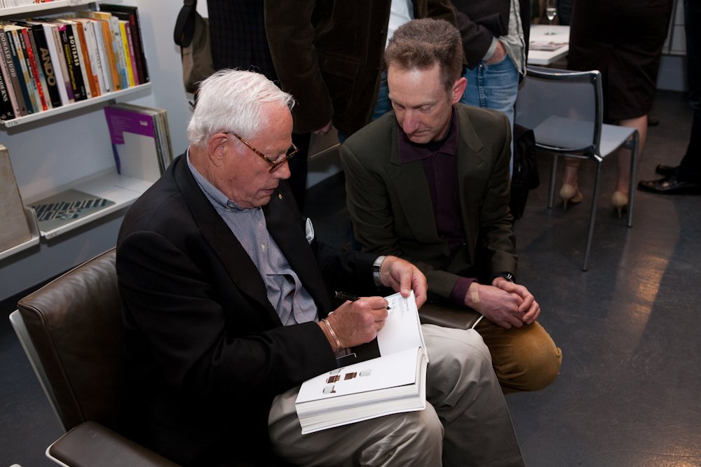 Dieter Rams at the 606 is 50 exhibition.  Photo 2 of 2 in 30 Minutes With Dieter Rams