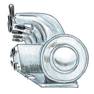 1948<br><br>Gio Ponti redesigns La Pavoni espresso machine.