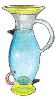 1981<br><br>Ettore Sottsass designs Altair vase.