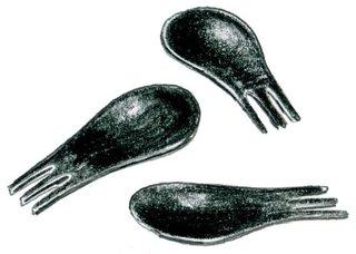 2000<br><br>Matteo Ragni and Giulio Iacchetti design Moscardino fork.