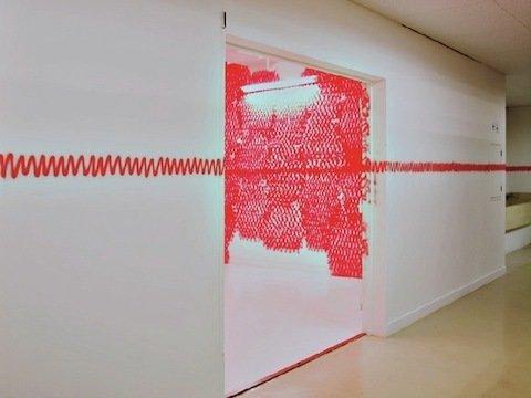 "Sasaki's ""Heartbeat"" - Photo 3 of 5 - An exhibition at Arts Chiyoda in Tokyo. Photo by Naoki Ishizaka"