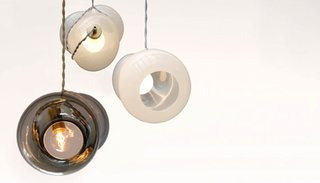 Brooke Woosley's Bundle Lamp.