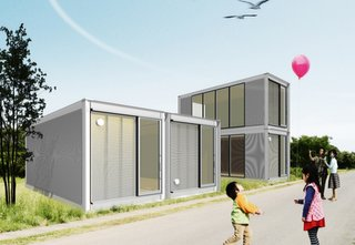 "The term ""resourcefulness"" may define just what Ex-Container aims to provide for families in need: this project takes structures from ISO shipping containers and restructures them into stackable houses."